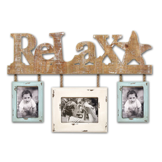 Wholesale Wall Hanging Kid Photo Frame Custom Word Sign