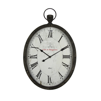EA6340 Arabic Numerals Digital Home Decoration Classic Wall Clock