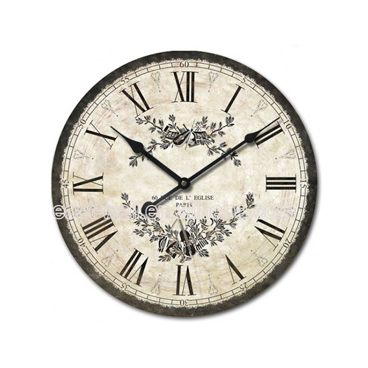 Cheap Prices Sales Simple Style Antique Style Fluorescent Light Wall Clock For Kids