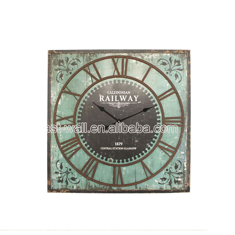 Lowest Price Antique Style Mdf Mecca Art Wall Clock Tower