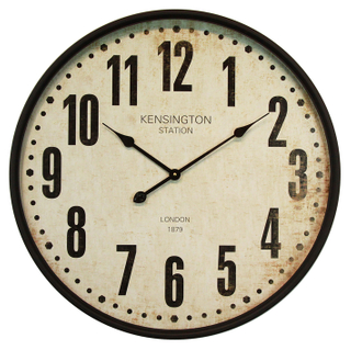 New Design Decorative Wall Clock Promotional Modern Custom Iron Wall Clock