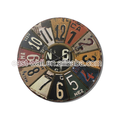 Highest Level New Innovative Household Products Creative Style Iron Rod Wall Clock