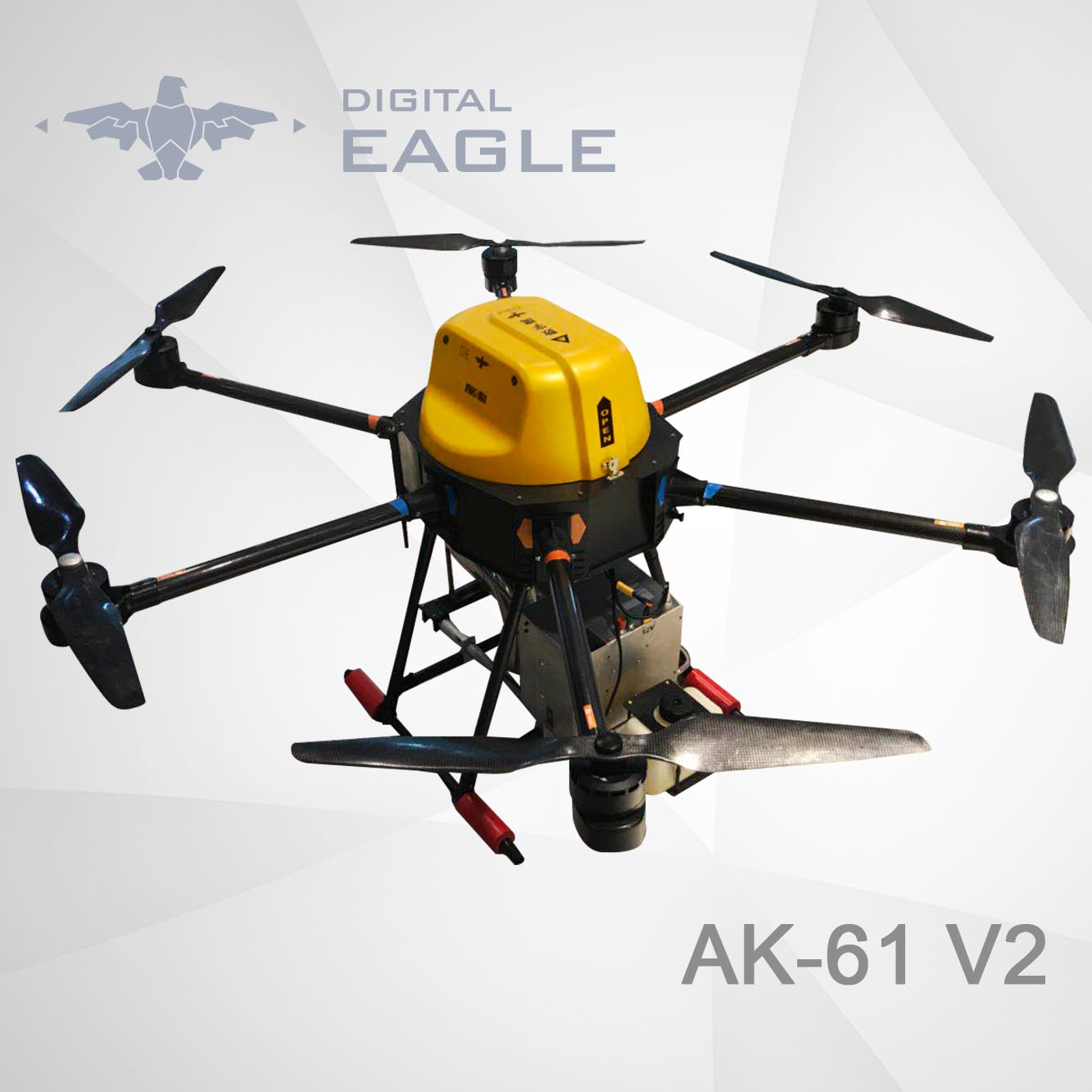 AK-61 V2 Agricultural Drone sprayer for Tall Trees