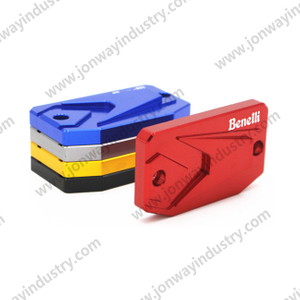 CNC Brake Oil Reservoir Caps For Benelli TRK502