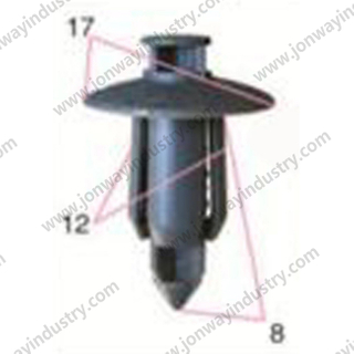 Nylon Rivet M6 PRY