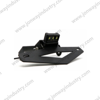 Numberplate Holder With LED Numberplate Light For Benelli 502C, BJ500-6A