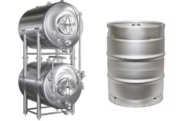 水平储罐和啤酒桶