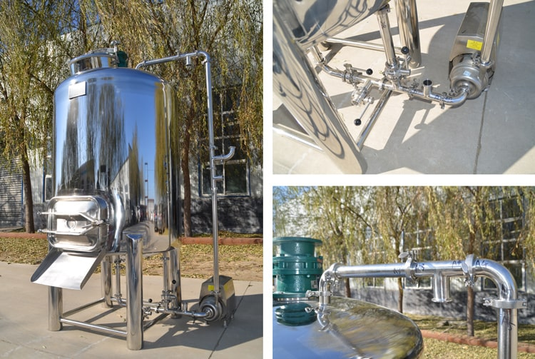 cold coffee brewing tank/stainless steel brewing tank