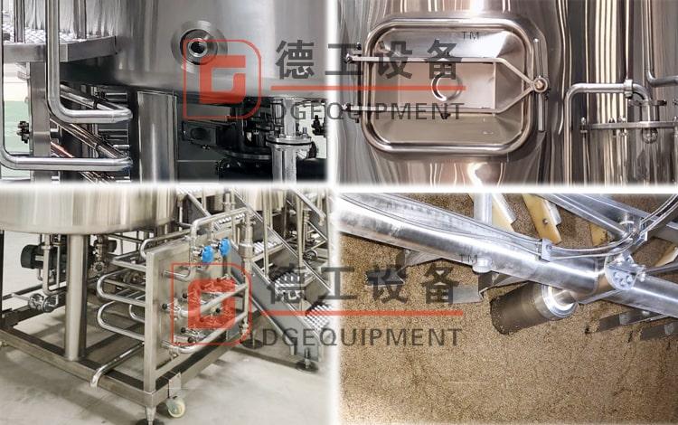 beer brewhouse details