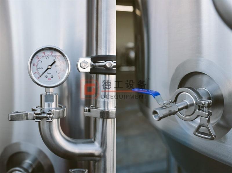 pressure gauge of FV-min