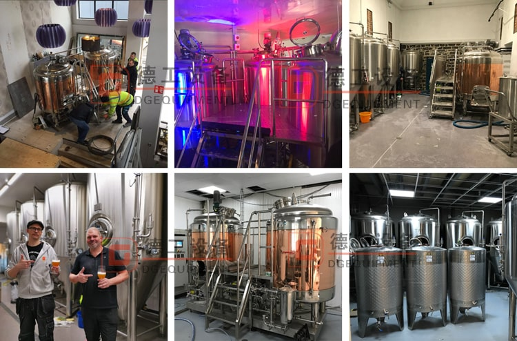 DEGONG beer brewing equipment manufacturer