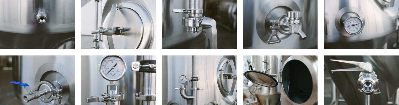 beer fermenting vessels