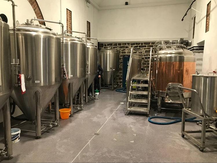 copper brew equipment