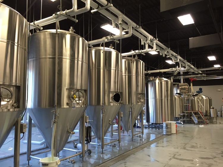 2000L beer brewery system