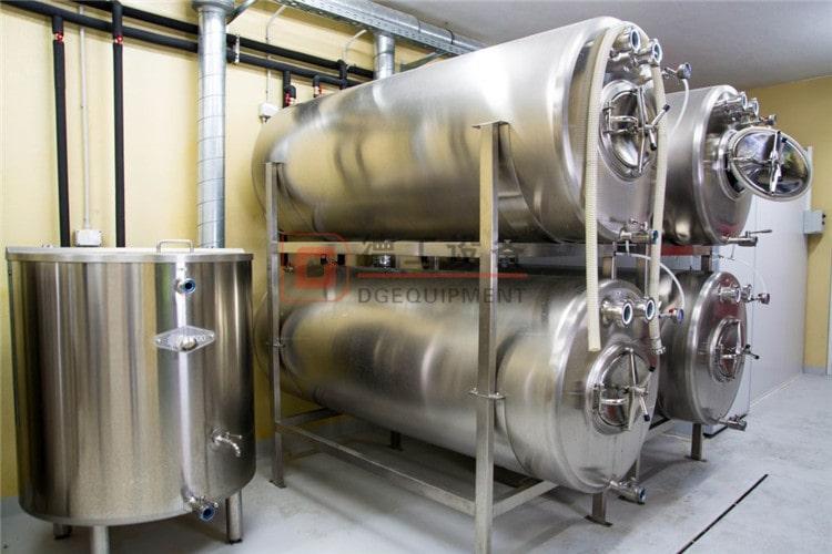 horizontal beer lagering tank1-min
