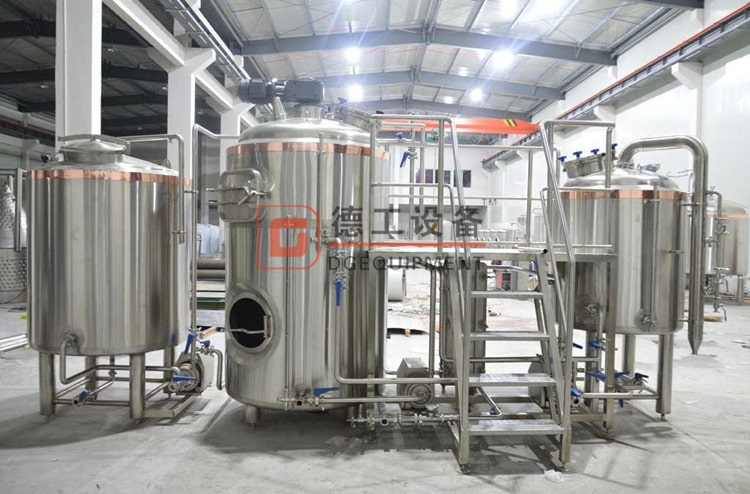 3-vessels brewhouse
