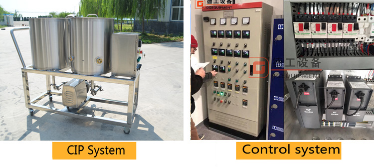 CIP and control system