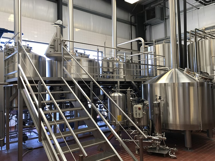 commercial used beer brewery equipment