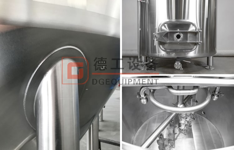 beer brewing equipment manufacturing process