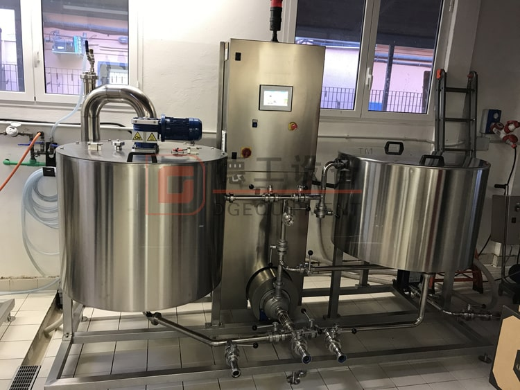 600L brewing system