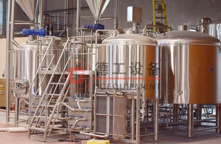 3-vessel beer brewhouse