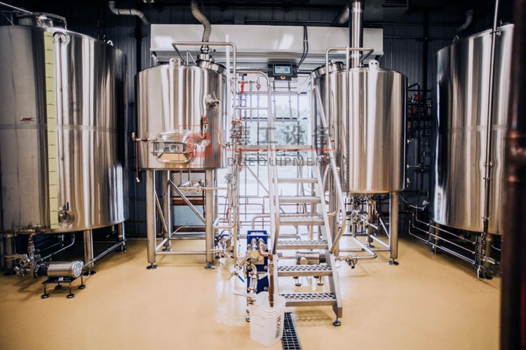 beer brewhouse mashing system
