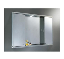 Stainless steel LED Mirror cabinet with different style