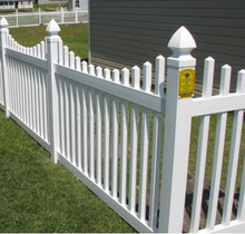 PVC FENCE SCALLOP PICKET CLASSIC