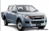 D-MAX 2012- 2WD GRILLE