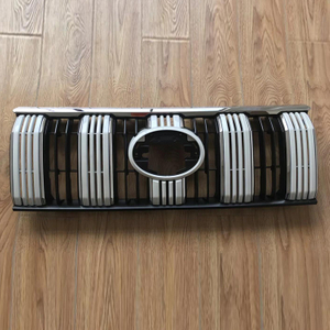 Plastic Auto Parts, New Grille White for Land Cruiser Prado 2018