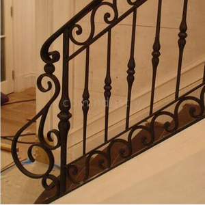 Indoors Iron Railing