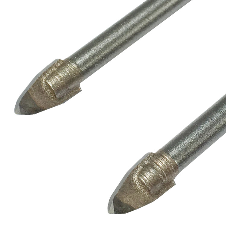 TCT Spear Porcelain Drill Bit, Cylinder Shank, 6010 Series