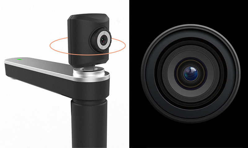 Fixed focus HD camera and advanced imaging technology, reproduce all the details of original file