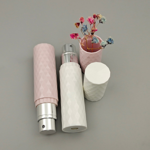 Pocket Bottom Filling Aluminum Empty Perfume Spray Bottle Atomizer