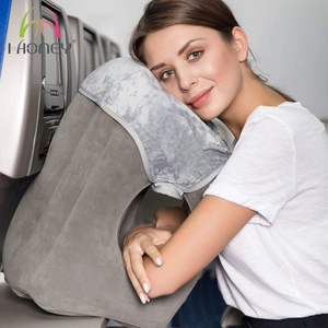 Air Inflatable Travel Pillow, Airplane Head Frontal Pillow, Nap Pillow