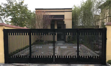 Good quality iron fence door iron gate designs
