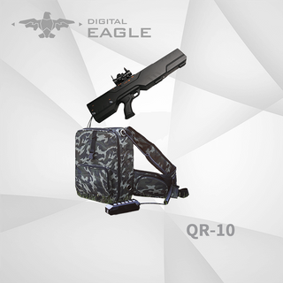 QR-10 Portable Anti Drone System with Directional Jammer Antennas