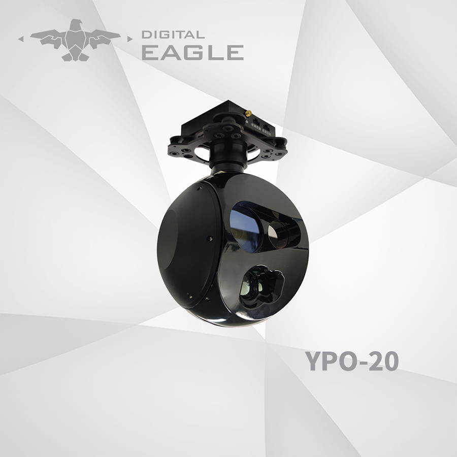 YPO-20 EO/IR/LRF Thermal Camera with Laser Range Finder And Auto Tracking