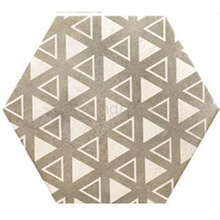 200x230mm Ceramic Art Hexagon Shaped Floor wall Tile