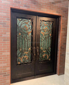 Steel Entry Doors Wrought Iron Outdoor Entry Gates