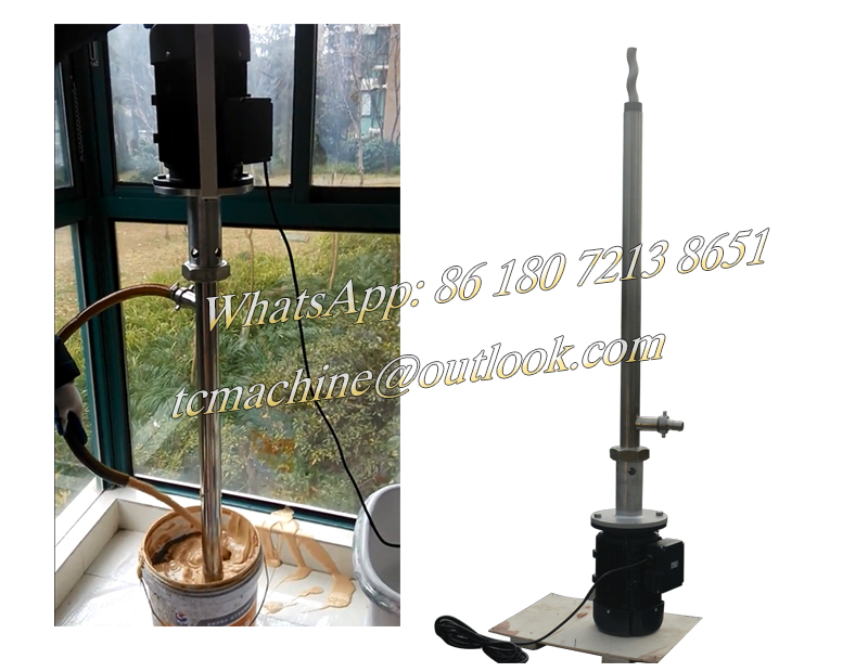 16gpm 60lpm portable barrel pump for honey