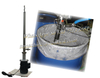 1.5HP 100,000cps portable barrel pump for 55 gallon Vegetable glycerin drums