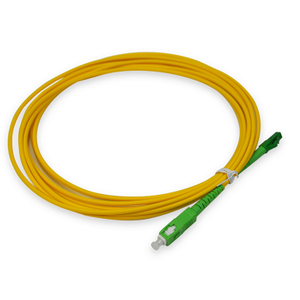 SC APC Fiber Optic Singlemode Simplex Patch Cord