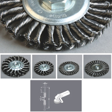 Circular Knotted Twist Wire Brush, 8211 Series