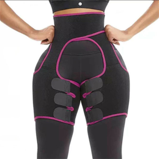 3-in-1 Waist Trainer Thigh Trimmer Weight Loss Butt Lifter Booty Sculptor Hip Enhancer Thigh Bodyshaper