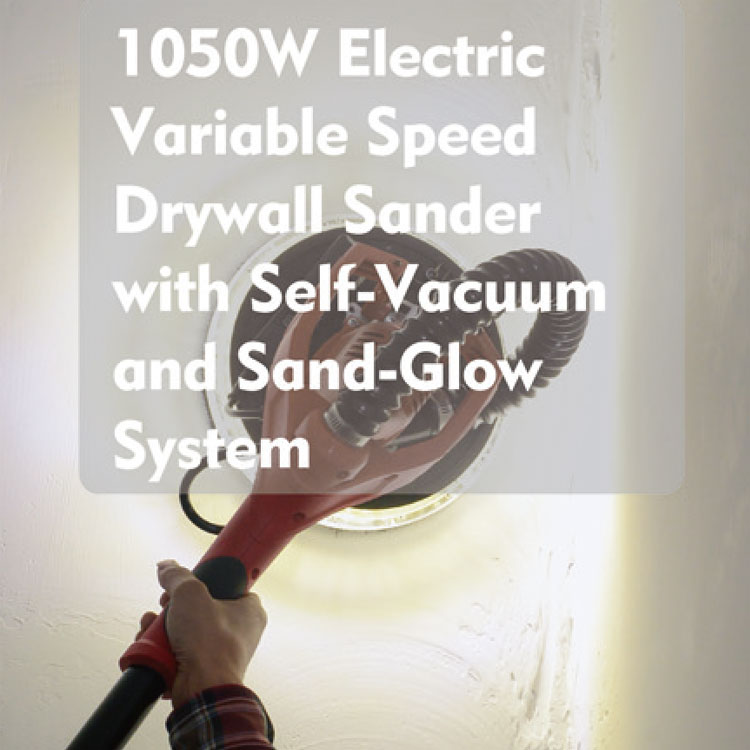 Lighting Drywall Sander 1050W, Model# R7246--SG-105E