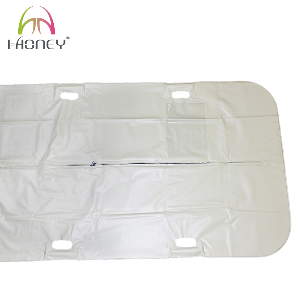 Thicken PVC Leakproof Grey Body Corpse Bag Disaster Bag