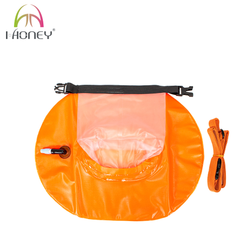 Pvc Inflatable Donut Swim Buoy Safety Dry Bag for Swimming