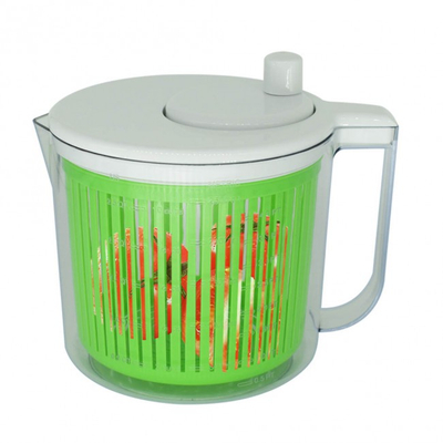 CHEFLY Collapsible Salad Spinner Set Small Steady Quick Lettuce Washer Dryer Mixer All in One